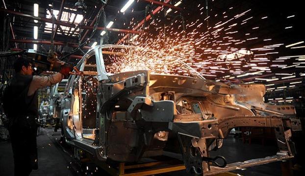 Sanayi üretim endeksi yüzde 2,4 arttı