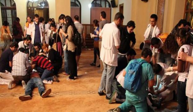 Yıldırım: Göstericiler camiyi yakacaklardı