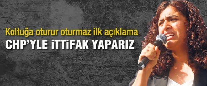 Sebahat Tuncel: CHP'yle ittifak yapabiliriz