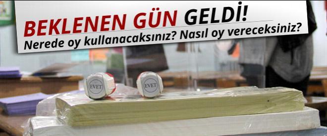 Bugün büyük gün! Türkiye cumhurbaşkanını seçiyor