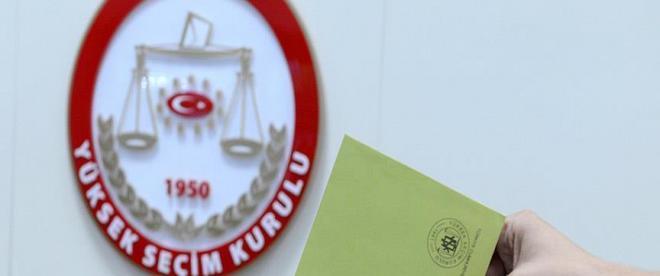 Türkiyede 753 yerde 6 Haziranda seçim yapılacak