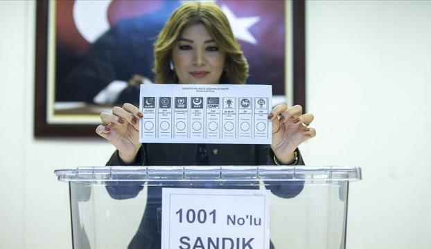 Yerel seçim oy pusulaları hazır