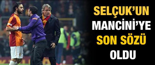 Selçuk İnan'dan Mancini'ye veda
