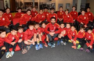 Selçuk İnan, Galatasaray altyapı sporcularıyla buluştu