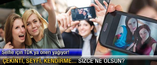 Selfie için TDK'ya öneri yağıyor