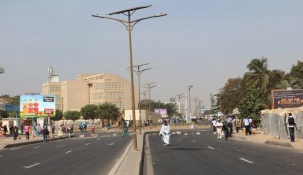 Senegalin en büyük ünivertesinde öğrenciler grevde