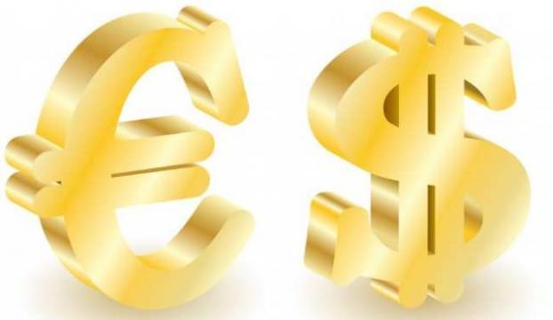 Dolar güne 2,2324 TL, Euro 2,8356 TLden başladı