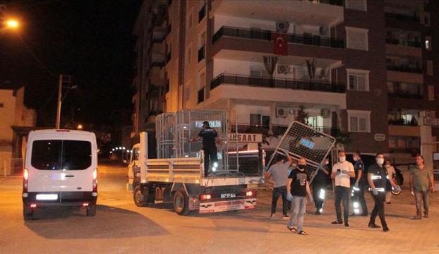 Antalyanın Serik ilçesindeki Kovid-19 karantina uygulamasının alanı genişletildi