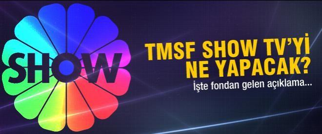TMSF'den Show TV açıklaması!