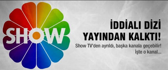 Show TV'nin iddialı dizisi yayından kalktı!
