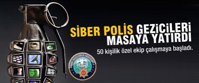 Siber polis gezicileri masaya yatırdı