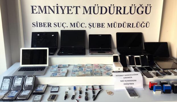 İstanbulda operasyon... 1 milyon kişinin bilgisini çalmışlar!