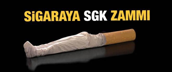 Sigaraya SGK zammı