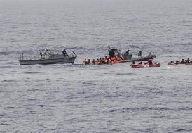 Akdeniz'de sığınmacı faciası, 34 kişi öldü