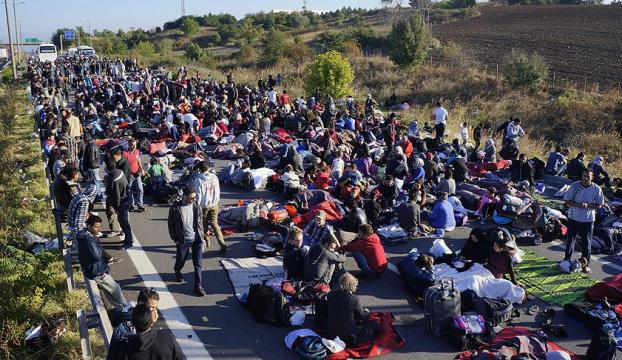 Sınırı yasa dışı yollardan geçmeye çalışan bin 250 kişi yakalandı