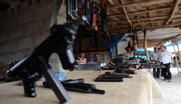 Erbildeki silah tamircilerinin tezgahları boş kalmıyor