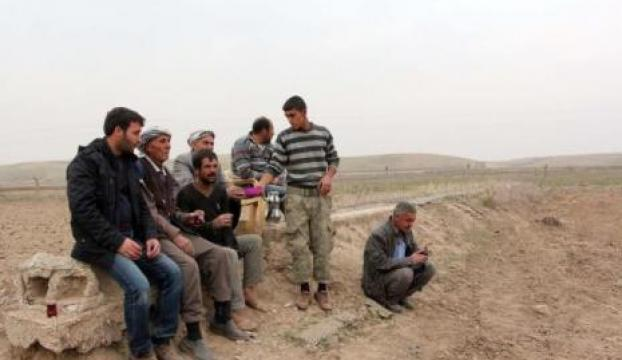 Sınırda IŞİDe komşu olan mahallelerde tedirginlik