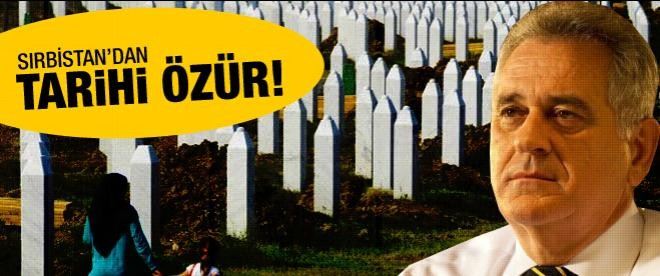 Sırbistan'dan tarihi özür