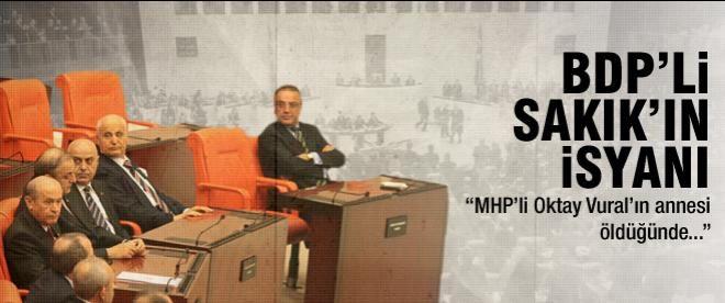 """Sakık: """"MHP Vural'ın annesi öldüğünde..."""""""