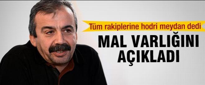 Sırrı Süreyya Önder mal varlığını açıkladı