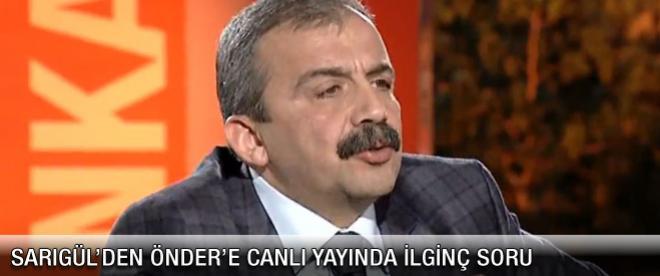 Sırrı Süreyya Önder açıkladı!