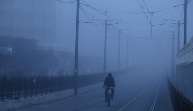 İstanbulda ulaşıma sis engeli