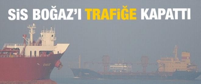 Çanakkale Boğazı trafiğe kapatıldı