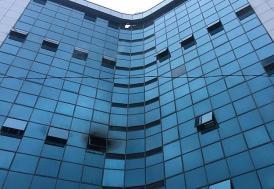 Şişli'de 17 katlı iş merkezinde yangın