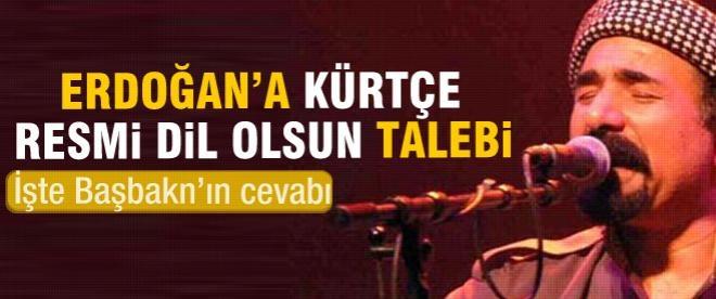 Şivan Perwer'in Erdoğan'dan resmi dil talebi