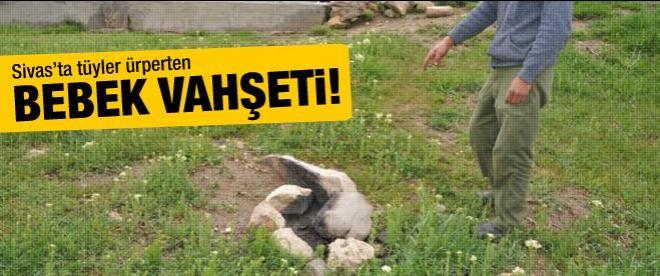 Sivas'ta tüyler ürperten bebek vahşeti!