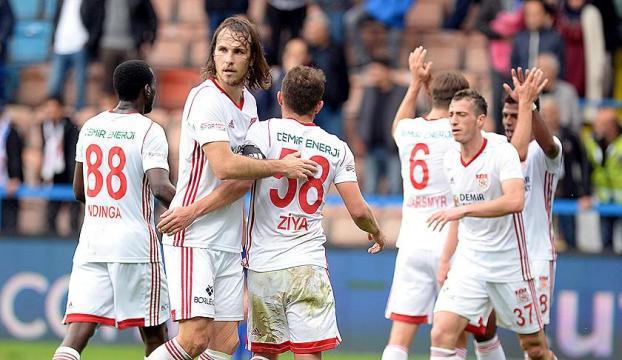 Sivassporun galibiyet hasreti sona erdi