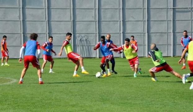 Sivassporun maç hazırlıkları sürüyor
