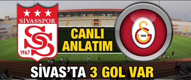 Sivasspor - Galatasaray maçı canlı anlatım