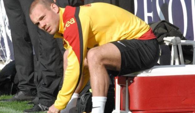 Sneijdere büyük şok! Polis evini bastı