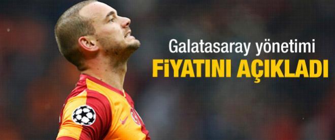 Sneijder'in bonservisi belli oldu