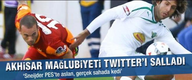Akhisar - Galatasaray maçı twitter'ı salladı