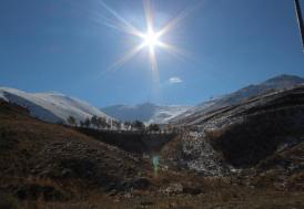 Doğu Anadolu'da hava sıcaklığı sıfırın altında