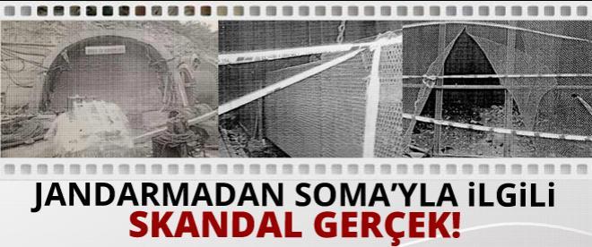 Jandarmadan Soma'yla ilgili skandal tespit