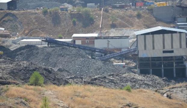 Somadaki maden ocağında yangın