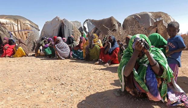 Somalide 5 milyon insan açlık tehdidinde