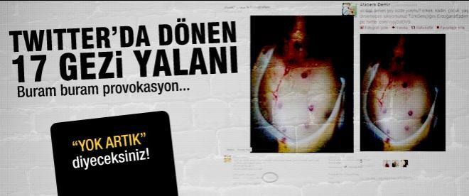 Sosyal medyada 17 yalan 'Gezi' haberi!