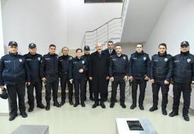 Bakan Soylu'dan polis merkezine sürpriz ziyaret
