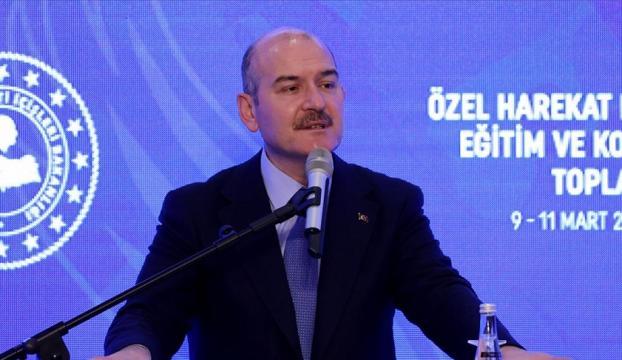 Bakan Soylu : Örgüte katılım tarihin en düşük seviyesinde