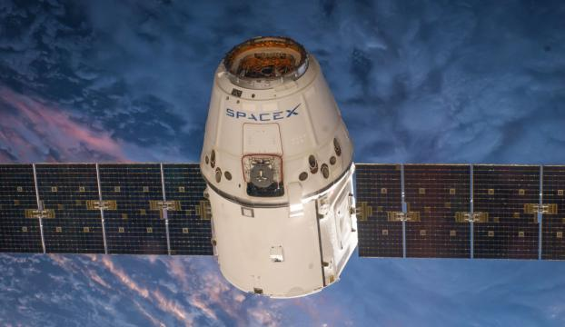 SpaceX, Falcon Heavy roketinin parçasını kaybetti!