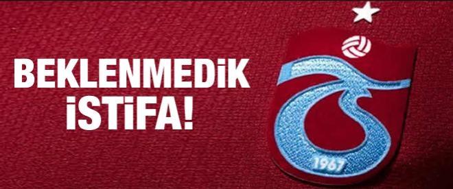Trabzonspor ikinci başkanı istifa etti