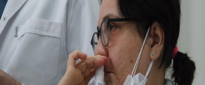 Bursada virüslere karşı etkili ağız ve burun spreyi geliştirildi