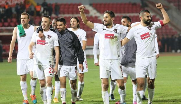 Gaziantepspor 1-0lık galibiyetle 3 puanı kaptı