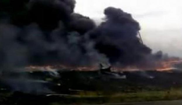 Malezya uçağının düşmesi ile ilgili yeni görüntüler