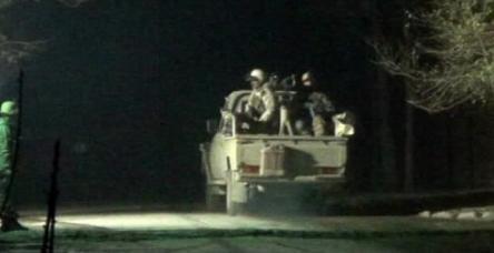 Taliban üyeleriyle güvenlik güçleri böyle çatıştı