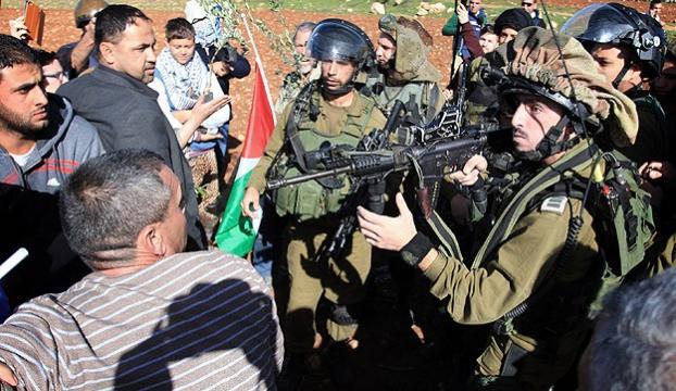 İsrail güçleri gerçek mermiyle müdahale etti